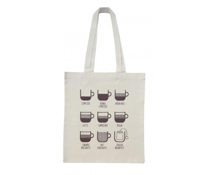 Cafe Tote Bag Tote Bags Fevrier Designs