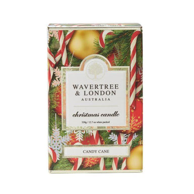 Candy Cane Candle Scented Candles Wavertree & London