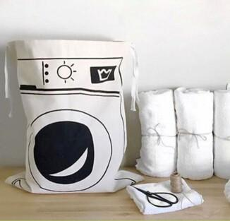 Canvas Laundry Bag - Laundry Baskets - Charlie and Skye - Naiise