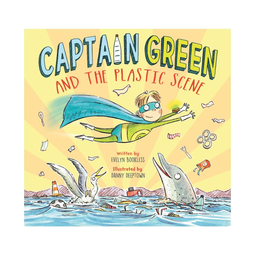 Captain Green and The Plastic Scene - Children Books - Marshall Cavendish - Naiise