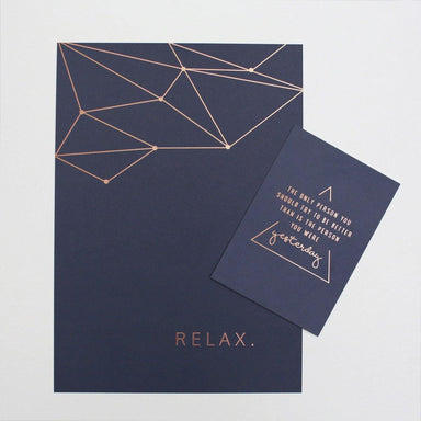 Cards Dark Blue (Set of 3) - Generic Greeting Cards - Jo & Judy - Naiise