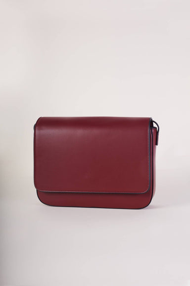 Carol Bag in Maroon - Handbags - Carlie - Naiise