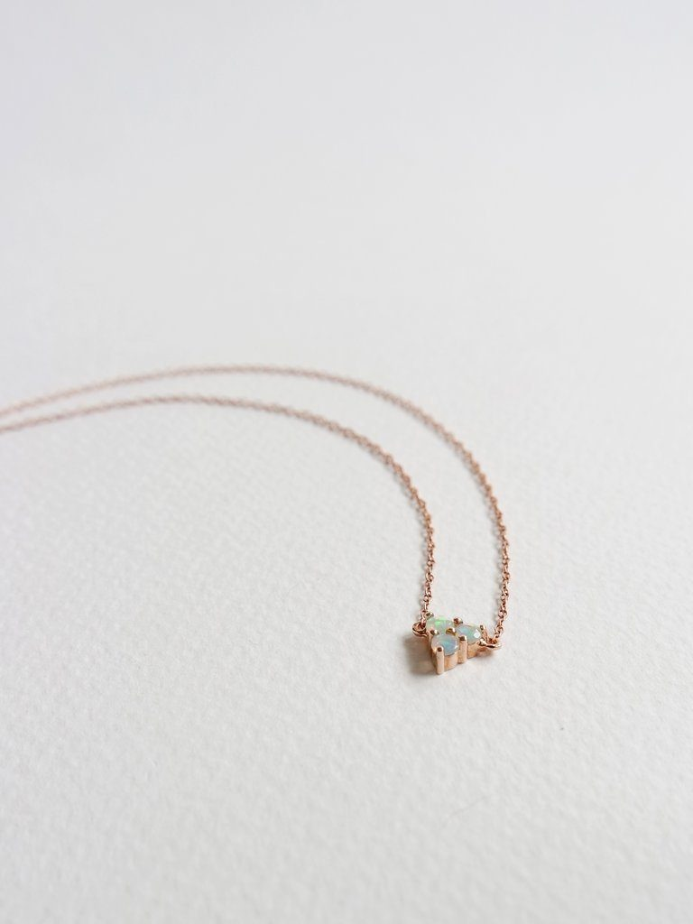 Cassie Opal Necklace - Necklaces - curious creatures - Naiise