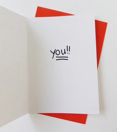 Cat - I Love You Card - Love Cards - Steak & Eggs Please - Naiise