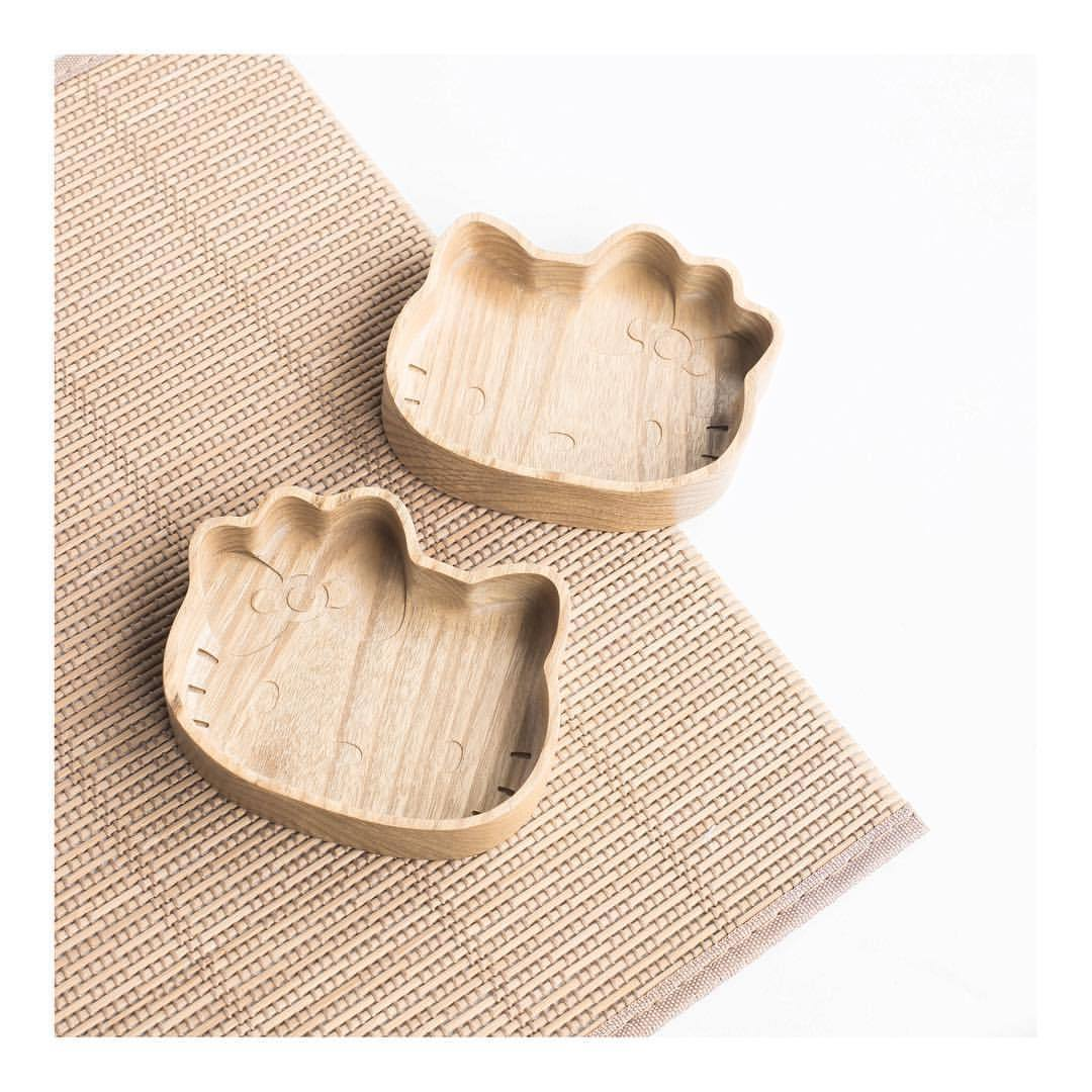 Cat UDDO Wooden Plate - Plates - UDDO - Naiise