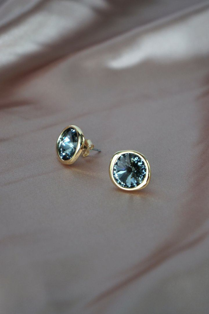 Chaleur Earrings in Gold - Silver Night Earrings Secret Clovers