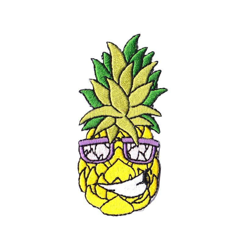 Cheeky Frank Pineapple Iron On Patch Iron On Patches Pew Pew Patches
