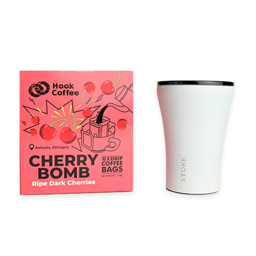 Cherry Bomb x STTOKE - Coffee - Hook Coffee - Naiise