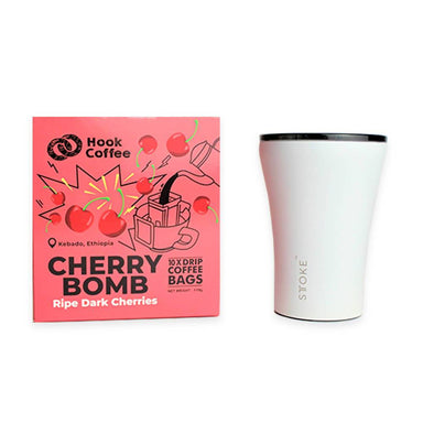 Cherry Bomb x STTOKE Coffee Hook Coffee
