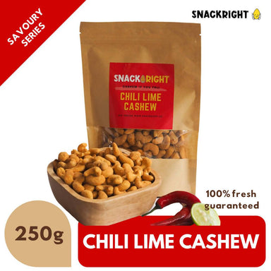 Chili Lime Cashew Local Snacks SnackRight