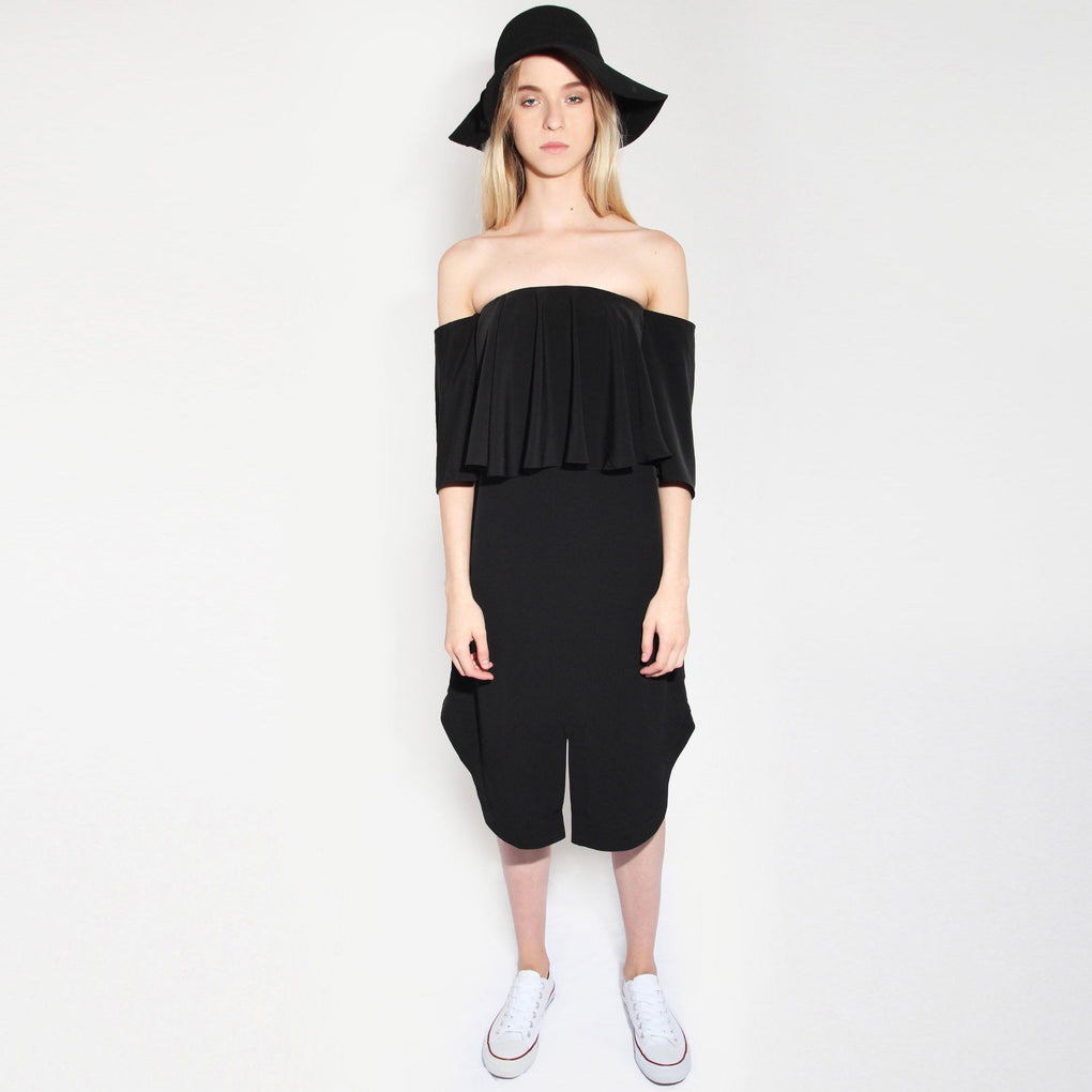 CHIRICO DRESS IN BLACK - Dresses - Salient Label - Naiise