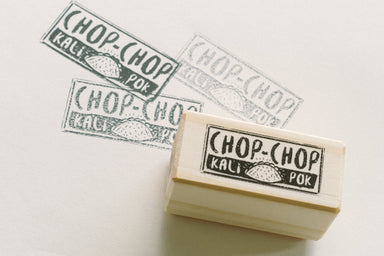 CHOP CHOP Kali Pok - Local Stationery - Tuber Productions - Naiise