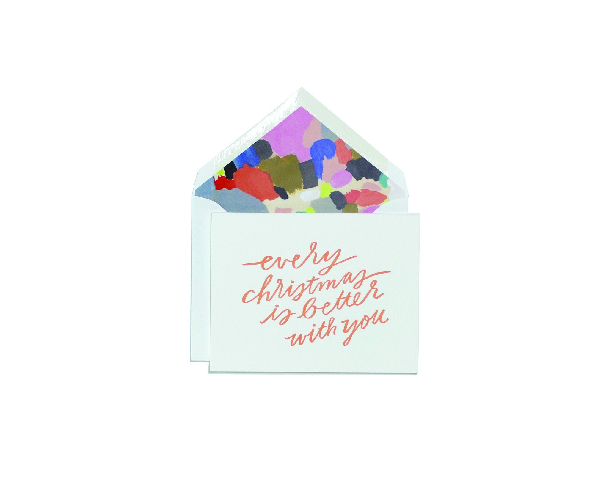 Christmas Is Better With You Greeting Card - Christmas Cards - Moglea - Naiise