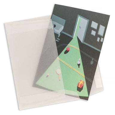 Christmas Night Greeting Card Christmas Cards MULTIFOLIA ATELIER di Rita Girola