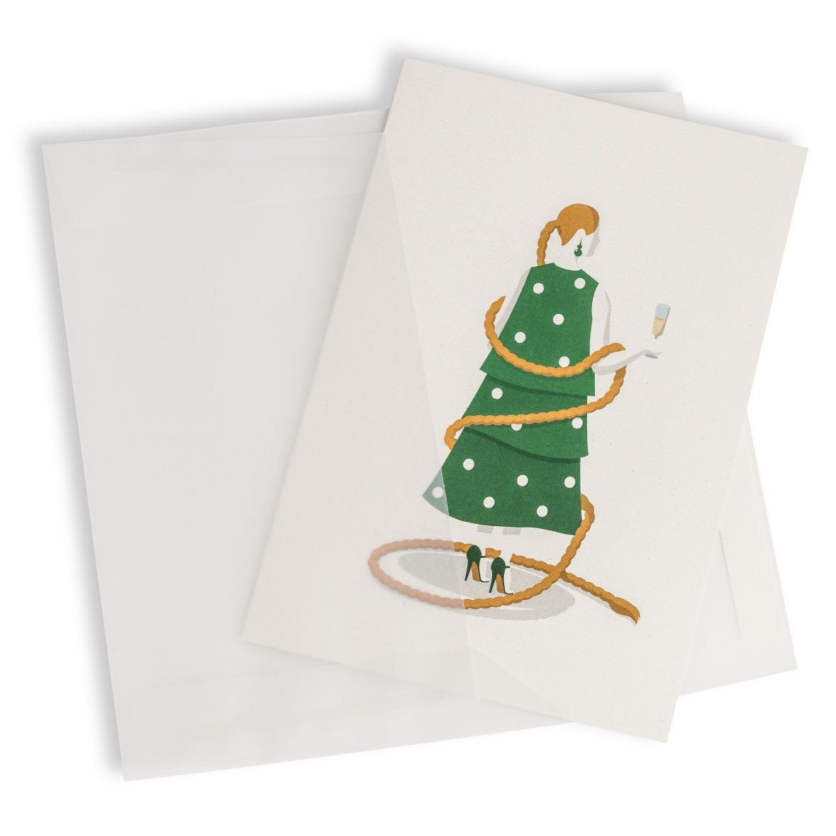 Christmas Tree Greeting Card - Christmas Cards - MULTIFOLIA ATELIER di Rita Girola - Naiise
