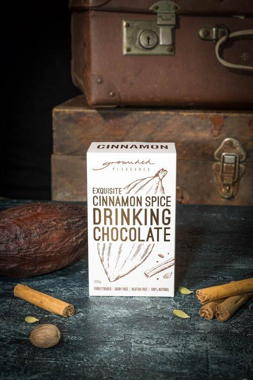 Cinnamon Spiced Drinking Chocolate (200g) Chocolate Drinks Grounded Pleasures