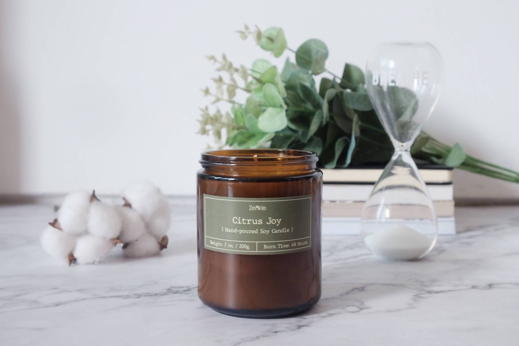 Citrus Joy Soy Candle - Scented Candles - Zenkle - Naiise