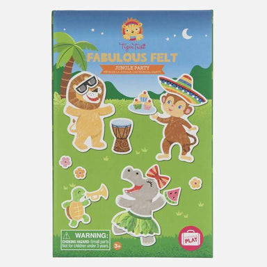 FABULOUS FELT - JUNGLE PARTY Toys The Children's Showcase