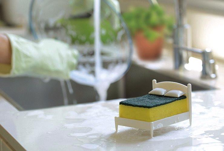 Clean Dreams - Kitchen Sponge Holder Kitchen Cleaning Ototo