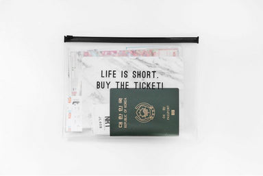 Clear Travel Pouch - Buy The Ticket - Pouches - Dear Maison - Naiise