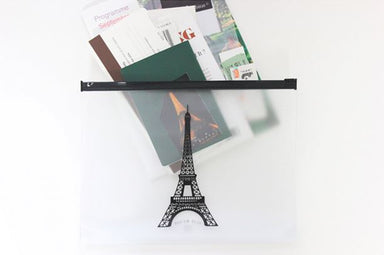 Clear Travel Pouch - Eiffel Tower - Pouches - Dear Maison - Naiise
