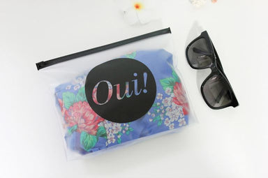 Clear Travel Pouch - Oui! - Pouches - Dear Maison - Naiise