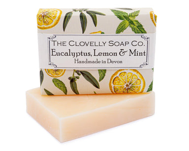 Clovelly Eucalyptus, Lemon and Mint Soaps The Clovelly Soap