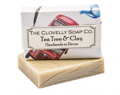 Clovelly Tea Tree & Clay Soaps The Clovelly Soap