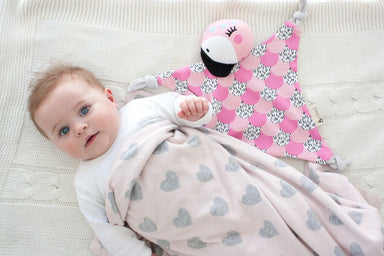 Coco Kippin Cuddle Blankie - Baby Blankets - Kippins - Naiise