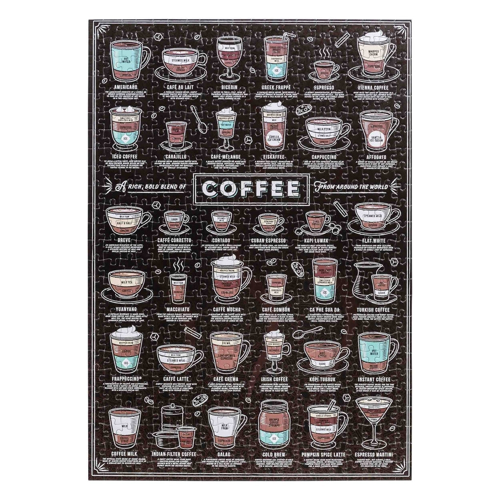 Coffee Lovers Jigsaw Puzzle - 500 pcs Puzzles RIDLEY