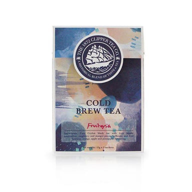 Cold Brew Sachets - Fruitopia Cold Brew Sachets The 1872 Clipper Tea Co.