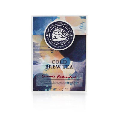Cold Brew Sachets - Summer Passion Fruit Cold Brew Sachets The 1872 Clipper Tea Co.