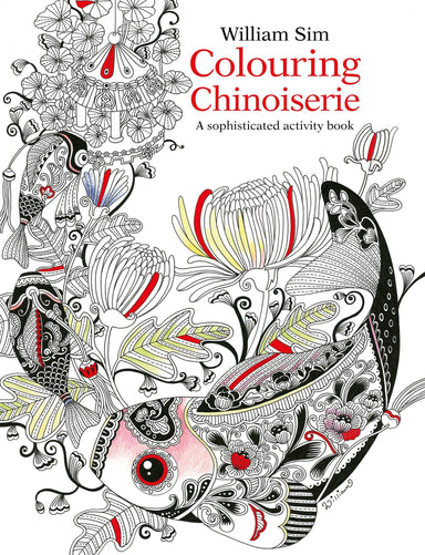 Colouring Chinoiserie Activity Book - Adult Colouring Books - Marshall Cavendish - Naiise