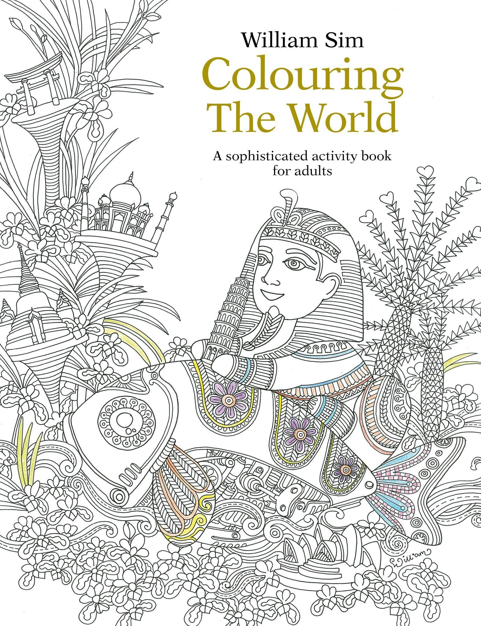 Colouring the World Book Adult Colouring Books Marshall Cavendish