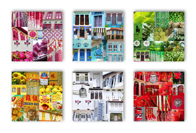 Colours Of Singapore Coasters - New Arrivals - MB Art - MemoryBoards - Naiise