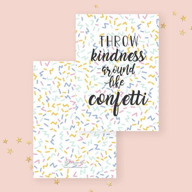 Confetti Card - Birthday Cards - YOUNIVERSE DESIGN - Naiise