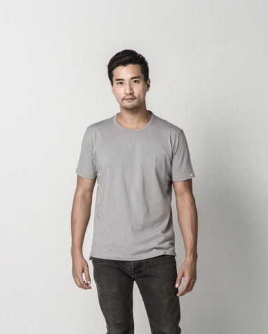 Cool Grey Signature Tee ATSS1505 Men's T-shirts Cut & Paste