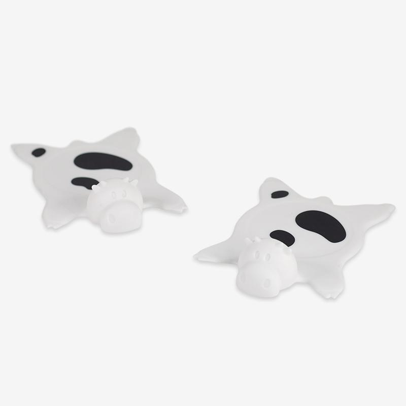 Cow Rug Coaster (Set of 2) - Coasters - The Daydreamer Studio - Naiise