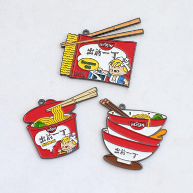 CQYD Badge Keychain - Packet Noodles Local Keychains Meykrs