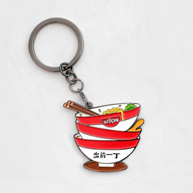 CQYD Badge Keychain - Stacked Bowls Local Keychains Meykrs
