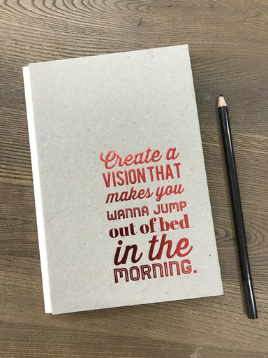 Create a Vision Chipboard Notebook - Notebooks - Papermix - Naiise
