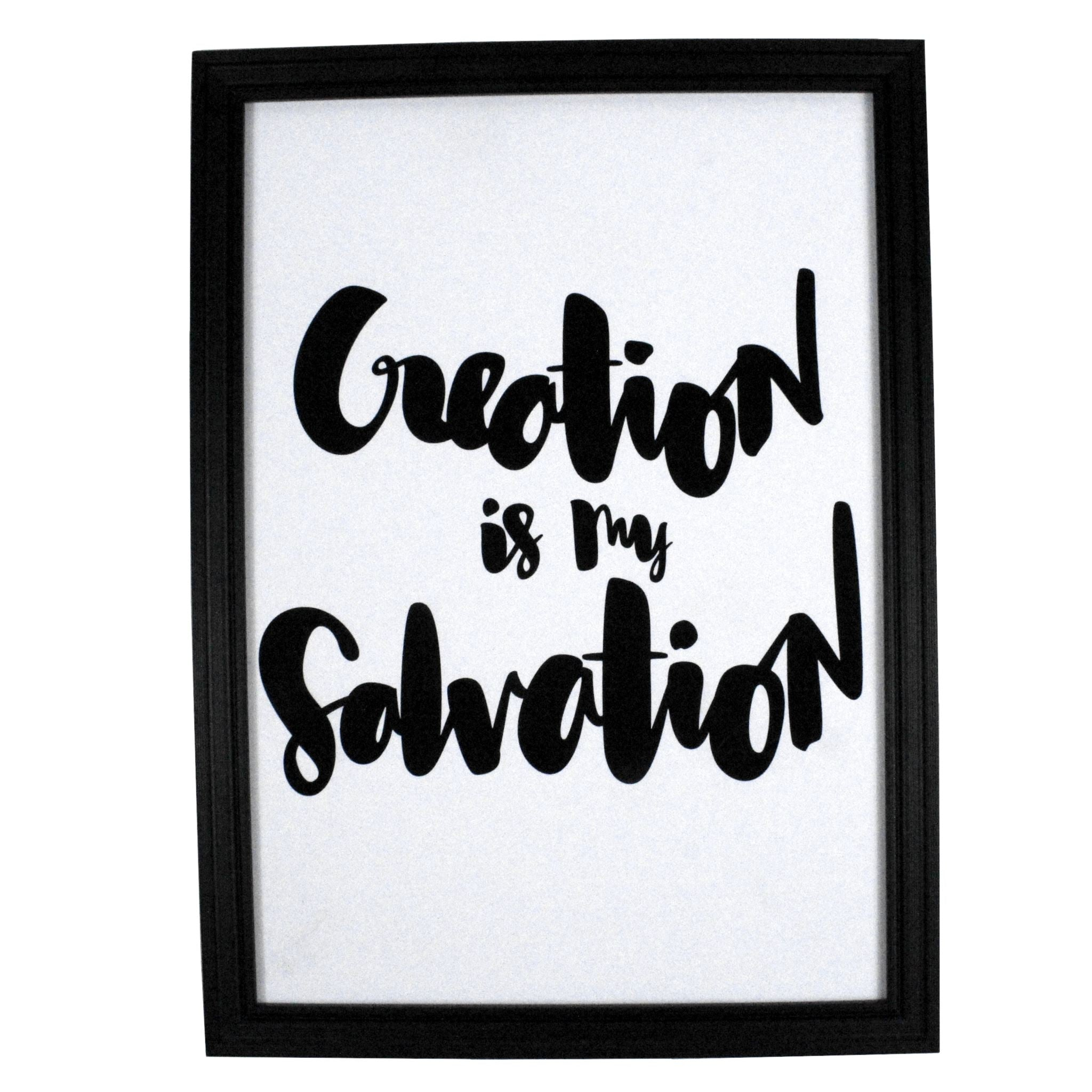 Creation is My Salvation V1 Print Prints ELLIAWRITES