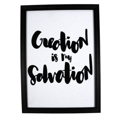 Creation is My Salvation V1 Print - Prints - ELLIAWRITES - Naiise