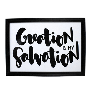 Creation is My Salvation V2 Print - Prints - ELLIAWRITES - Naiise