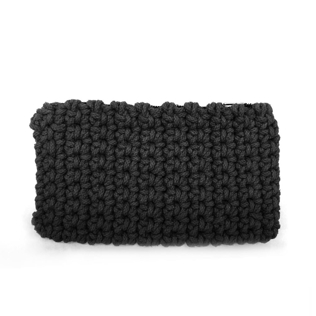 Crochet Clutch Local Clutches Indie Mama Black