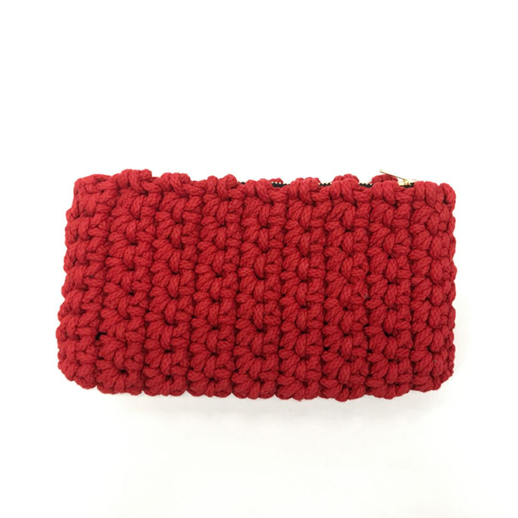 Crochet Clutch Local Clutches Indie Mama Red