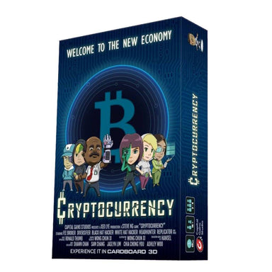 Cryptocurrency by Capital Gains Studio Board Games Capital Gains Studio