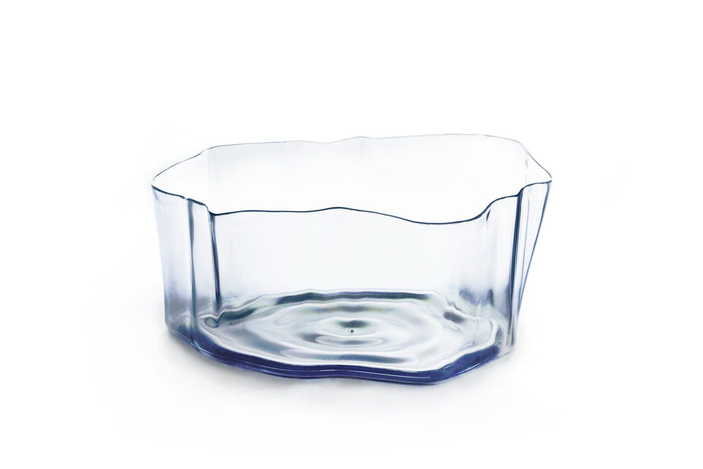 Crystal Flow Bowl - Tableware - Qualy - Naiise