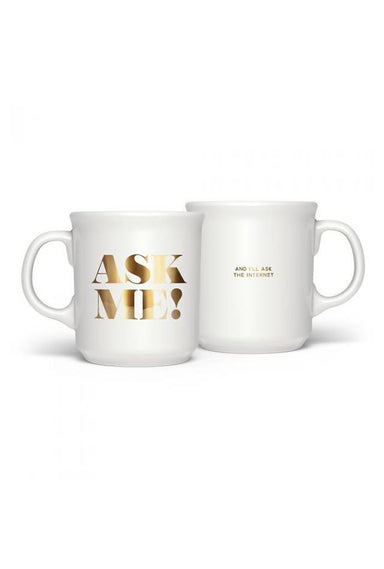 Fred - Ask Me Mug - Mugs - The Planet Collection - Naiise