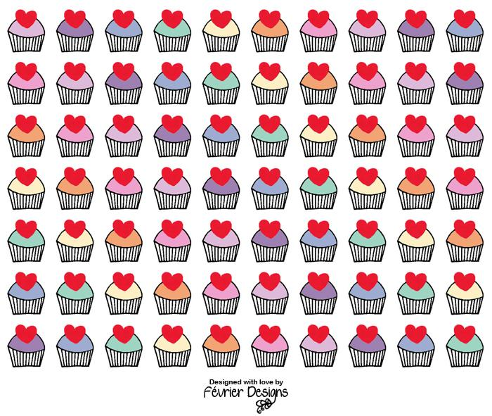 Cupcake Rainbow Card - Generic Greeting Cards - Fevrier Designs - Naiise
